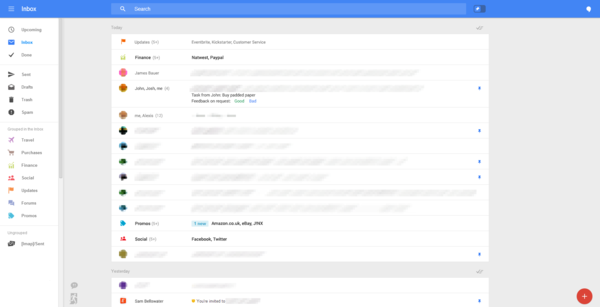 疑似 Gmail 網頁版螢幕照流出,準備要大改了嗎?