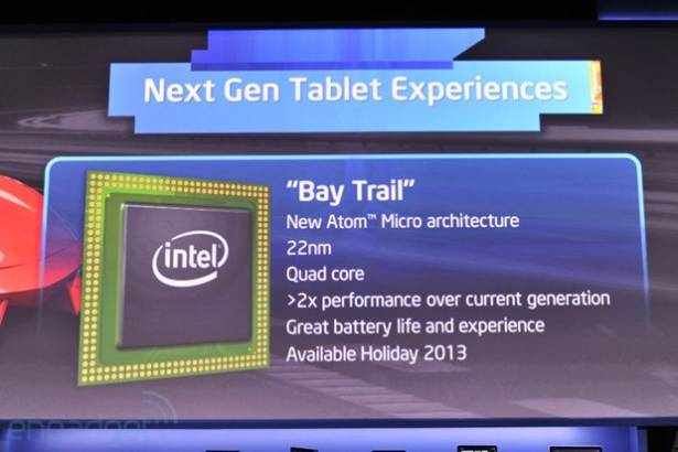 Intel 公佈新一代 Atom 處理器,代號「Bay Trial」