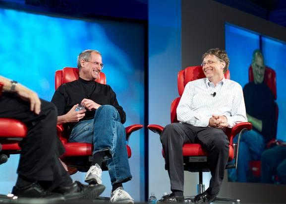 揭露比爾蓋茲眼中的賈伯斯:「大多數時間我與史帝夫都意見相左,但我們都創造了偉大的產品」