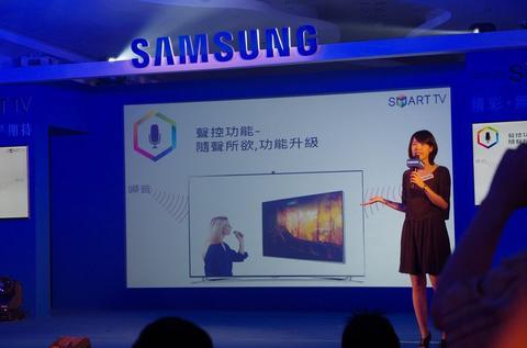 對電視豎拇指也能為臉書內容按讚,三星 2013 智慧電視新品規格升級推出