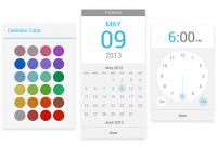 Google Calendar 之 Android 版本更新,可選彩色突出顯示