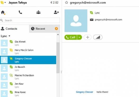 Skype 與 Lync 喜結連理,Microsoft 要讓用戶的聯絡人和 VoIP 服務聯繫得更緊密