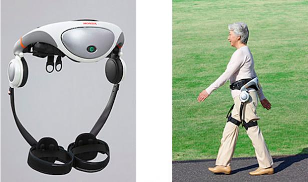 Honda 的 Walking Assist 走路輔助裝置將首先在日本醫院試行