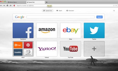採用 WebKit 核心的 Opera 15 測試版登場,介面更簡潔、更不吃資源