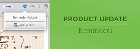 Evernote 於 Mac 、 iOS 以及網頁版開始提供提醒功能