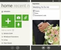 Windows Phone 版 Evernote 更新,重點為可將工具 Tile 釘到主頁