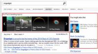 Bing 新聞搜尋現在支援顯示相關文章及人物了