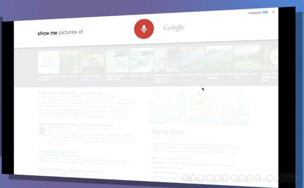 Google Search從此不用打字和按鈕, 說一聲「OK Google」就可以