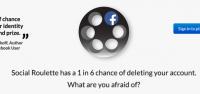 社交版俄羅斯輪盤!1 6 機會刪除你的 Facebook