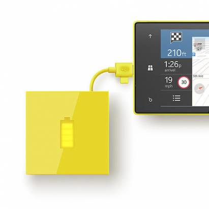 Nokia也推行動電源,很Lumia!
