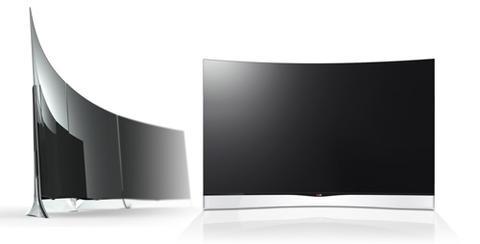 LG 於韓國開始販售 55 吋的曲面 OLED 電視,要價超過 40 萬台幣