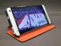 隨時隨地享受影音盛宴 新HTC One 可翻式保護套