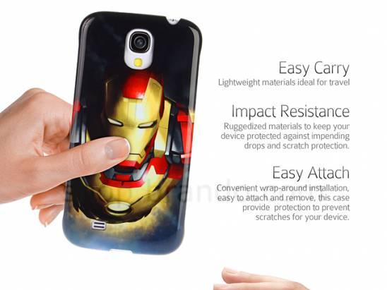 Iron Man 鋼鐵人Galaxy S4 手機殼!!
