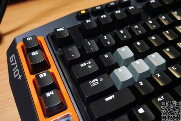 [動手玩] 羅技機械式鍵盤 G710+
