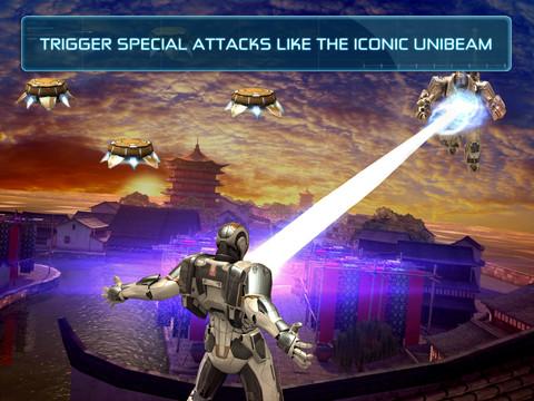 鋼鐵人3官方遊戲App: 極速飛行戰鬥, 研發大量新裝甲