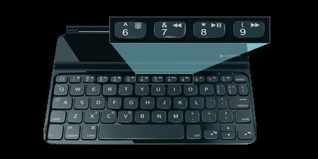 羅技超薄鍵盤保護殼mini上市 iPad mini完美的另一半