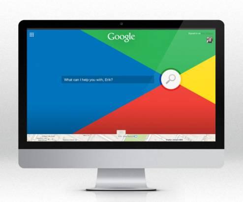 設計師重新打造的 Google 首頁,不知道各位覺得哪個最順眼?