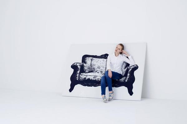 人家畫皮我畫椅,暗藏玄機的 CANVAS 設計椅