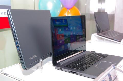 東芝因應 Windows 8 ,端出由台灣研發中心操刀的 U920t 觸控筆電(春電展主推 Sattllite U940)