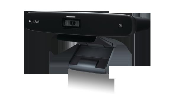 羅技HD網路攝影機 for TV結合大畫面液晶電視 讓電視不再只能看電視