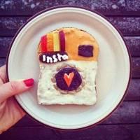 11種向世界級畫畫大師作品致敬的早餐吐司