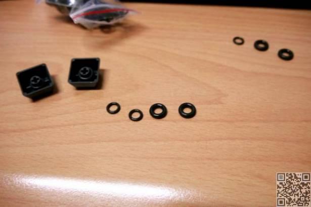 機械式鍵盤消音環(O-Ring)使用報告,有靜音需求的朋友也許可以試試