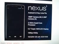 若洩漏圖規格正確無誤, Nexus 5 處理器應為高通 Snapdragon 800 (補上補充資訊)