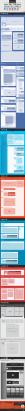 社群網站設計藍圖大全,有著詳細的尺寸標示,相關工作者值得收藏研究一下