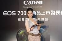 Canon 在台發表 EOS 700D ,羽量機型 100D 還要等月底