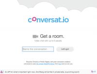 WebRTC 輕鬆上手 – 使用 conversat.io 實際玩!