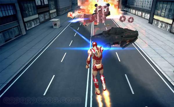 Iron Man 3官方iOS/Android遊戲將推出, 遊戲畫面影片首曝光