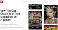 Flipboard 推出2.0版本,製作自己的個人雜誌