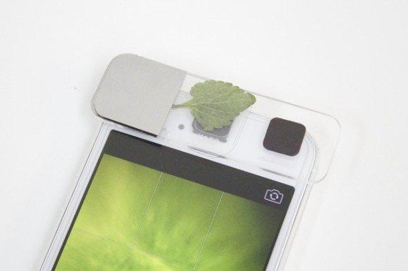 前鏡頭變身顯微鏡!Leye 讓 iPhone 再次創造無限可能