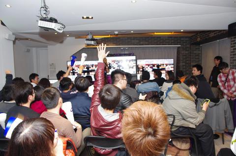 超大的電視 精彩的直播 BenQ癮科技WBC派對