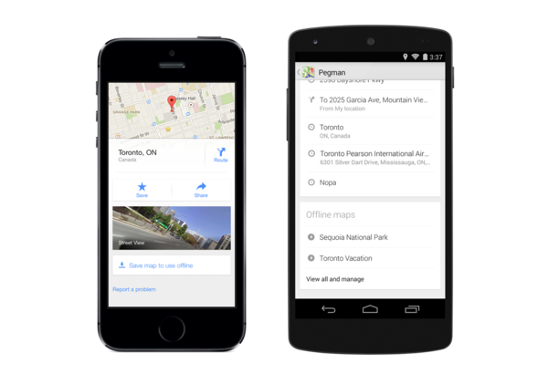 Google Maps for iOS / Android 最新版開放下載