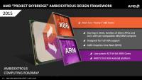 AMD 宣布 Project Skybridge 平台計畫,冀望此通殺 x86 與 ARM 為其開創