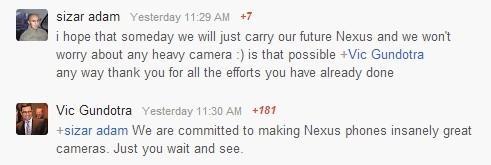Nexus 5 手機將會採用 Nikon 相機技術?