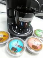 美國專利設計 專業水準90秒沖泡 在家DIY即泡膠囊咖啡機 Office適用