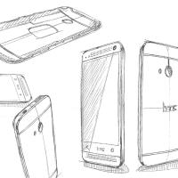 從新HTC One設計草圖來看外觀設計