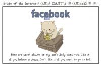 有趣比喻!論貓貓與各種網路服務之關係