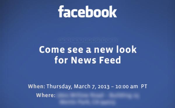 Facebook即將再次大改版, 本週發表新設計可能是這樣