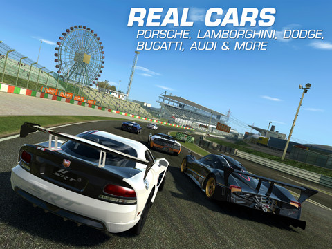 iPhone/ Android 免費下載史上最強賽車遊戲Real Racing 3