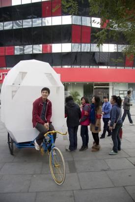 名符其實的腳踏車阿宅!中國的 Tricycle House 三輪車屋