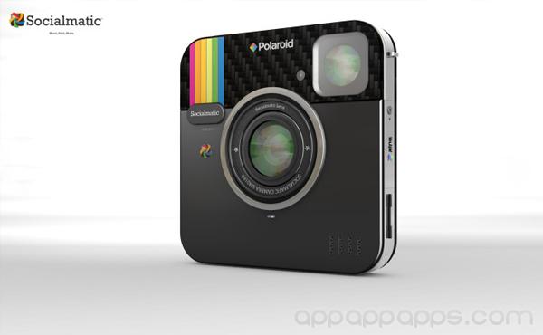 搞怪Instagram相機竟然成真, 更由著名Polaroid相機製造