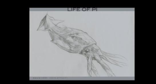 關於「少年PI的奇幻漂流」(Life of Pi)視覺特效影片展示
