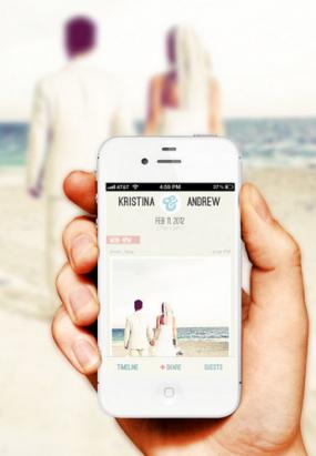 【iOS、Android App】邀請每位賓客成為你的婚禮攝影師